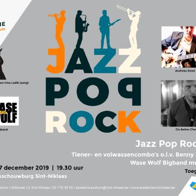 Toonmoment Jazz, Pop, Rock